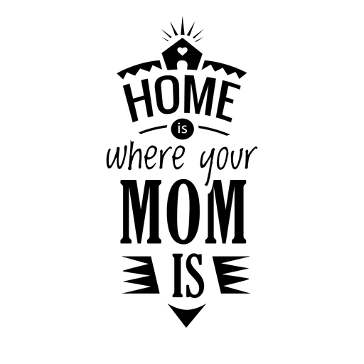 Quotes vector black and white. Mothers day calligraphy quote