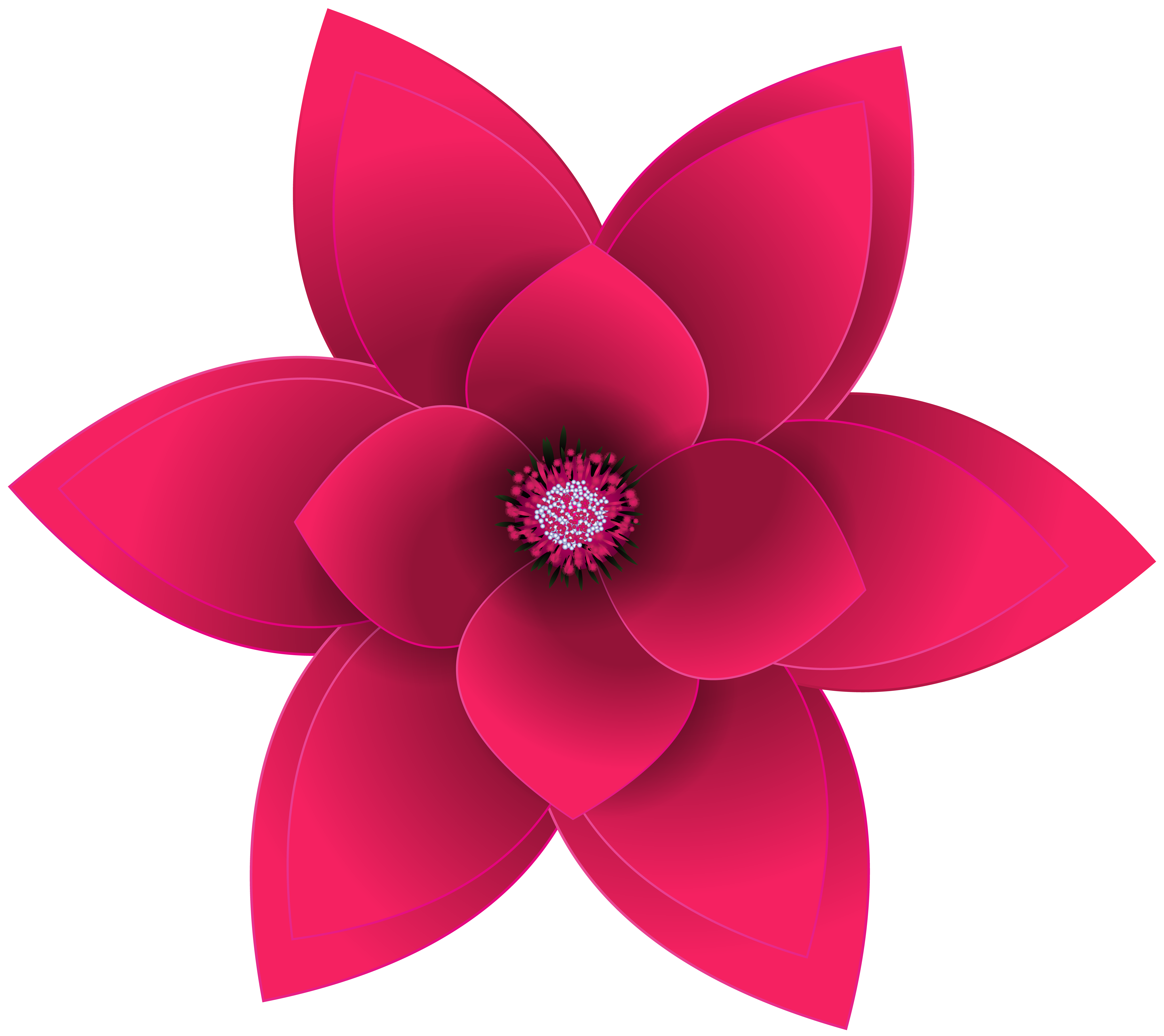 free clip art flowers transparent png clipart images free - HD8000×7123
