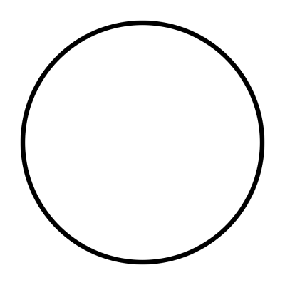Transparent png has black background. Download circle free image