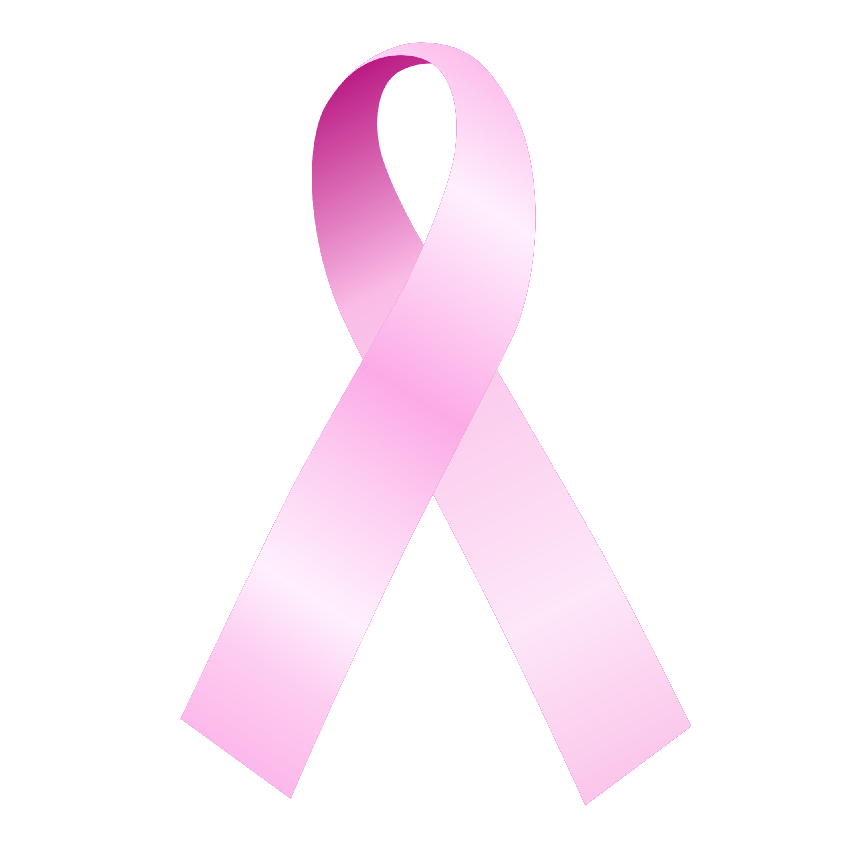 Transparent png has black background. Breast cancer awareness ribbons