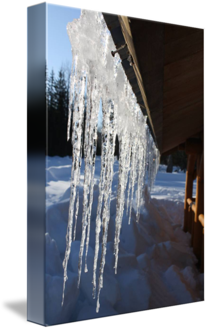 On roof by dimitri. Icicles transparent small graphic freeuse