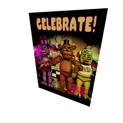 Transparent poster fnaf. From takes roblox