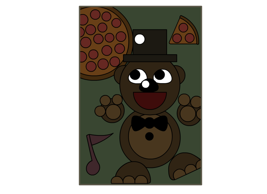 Transparent poster fnaf. Freddy by pamvllo on