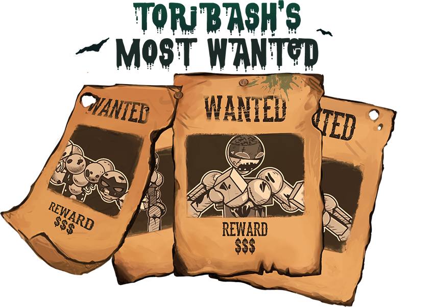 Transparent poster most wanted. Over tb s toribash