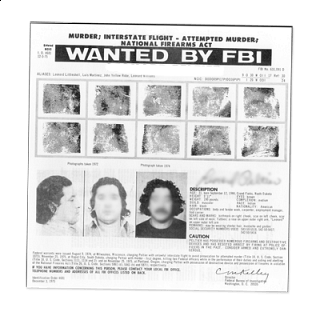 Transparent poster most wanted. Toledo police department all