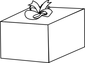 Gift clipart outline. Present cliparts free download