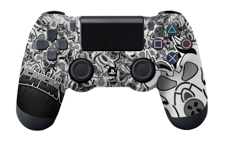 Transparent ps4 clear. Enemy classic pro series