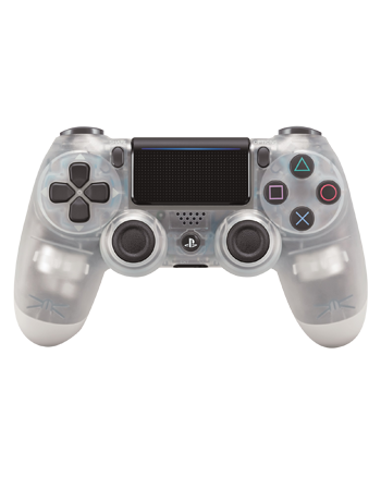 Transparent ps4 crystal. Ps dualshock wireless controller