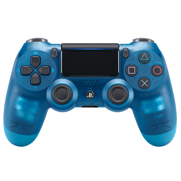 Transparent ps4 crystal. New playstation dualshock wireless