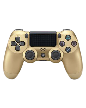 Transparent ps4 gold. Ps dualshock wireless controller