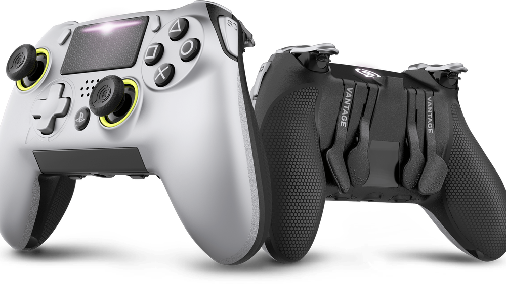 Transparent ps4 new. Scuf s ps controller