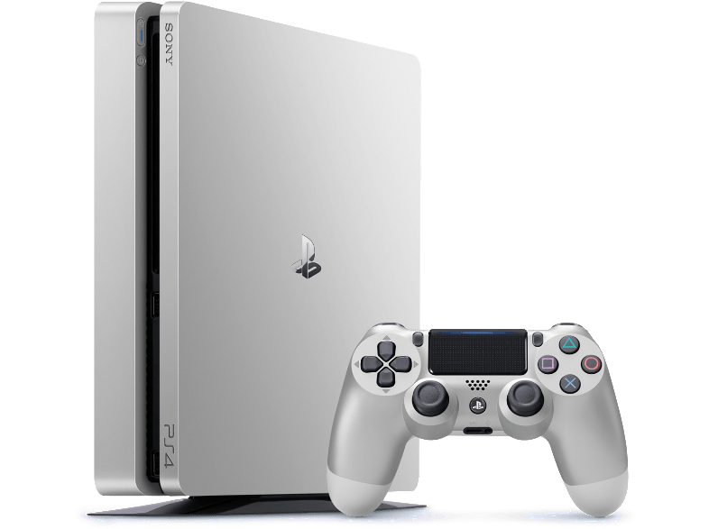 Transparent ps4 new. Silver ps slim announced