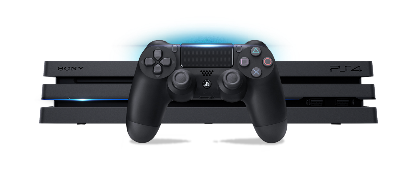 Transparent ps4 pro. There s one thing