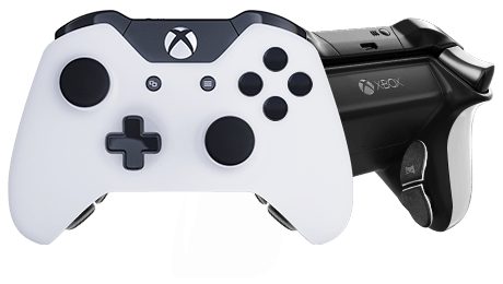 Transparent ps4 video game controller. Creator xbox one ps