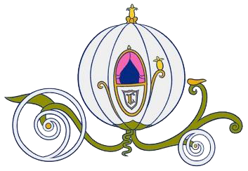 Transparent pumpkins cinderella. Pumpkin carriage clipart