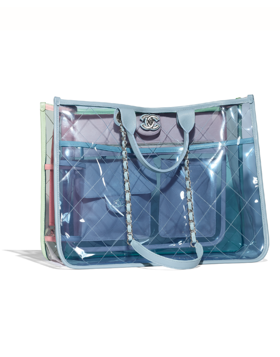 Transparent purses diy. The spring summer pre