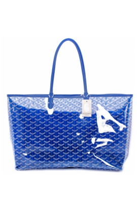 Transparent purses yellow clear. Goyard st louis tote