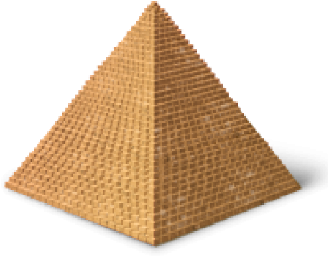 Transparent pyramid egyptian. Download png images egypt