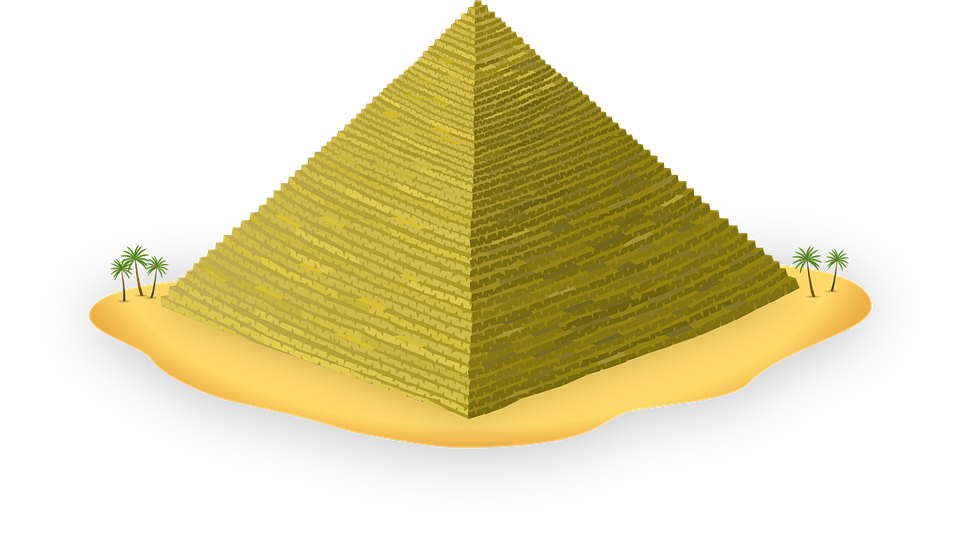 Transparent pyramid building. Egyptian png images pluspng