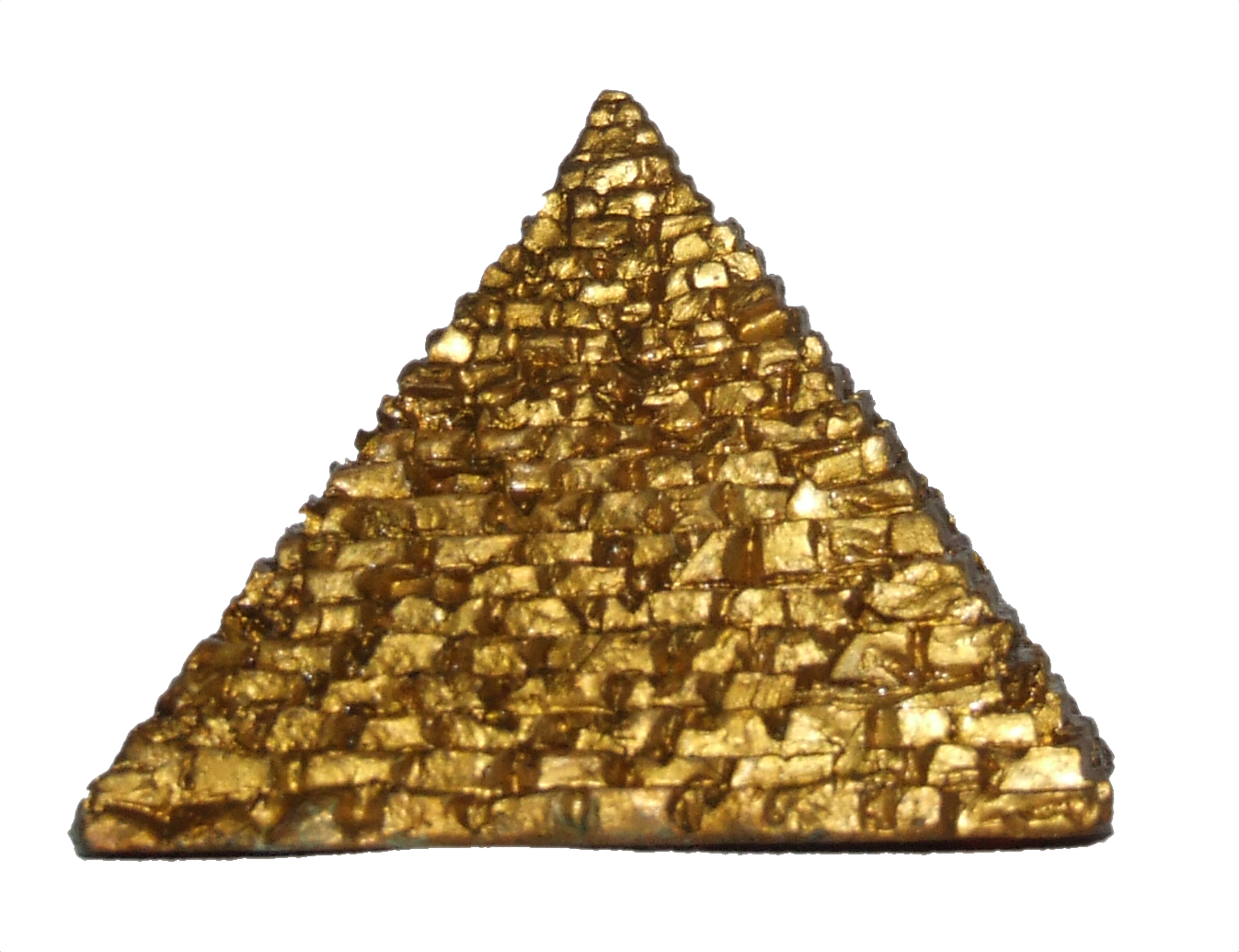Transparent pyramid gold. All sizes flickr photo