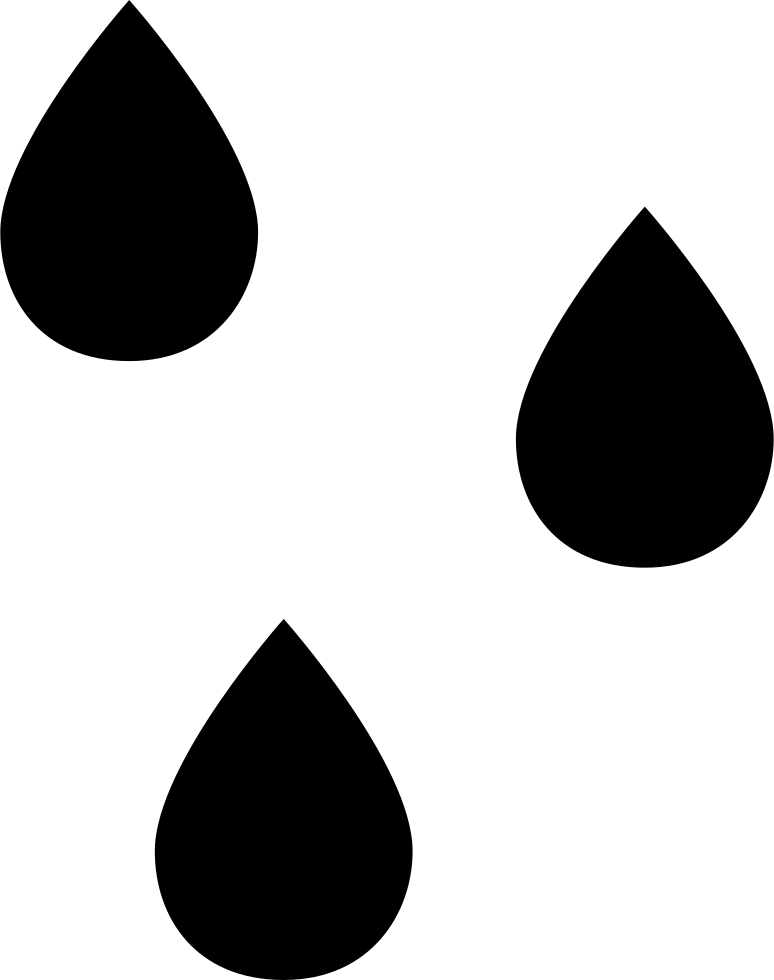 Transparent raindrop single. Raindrops svg png icon