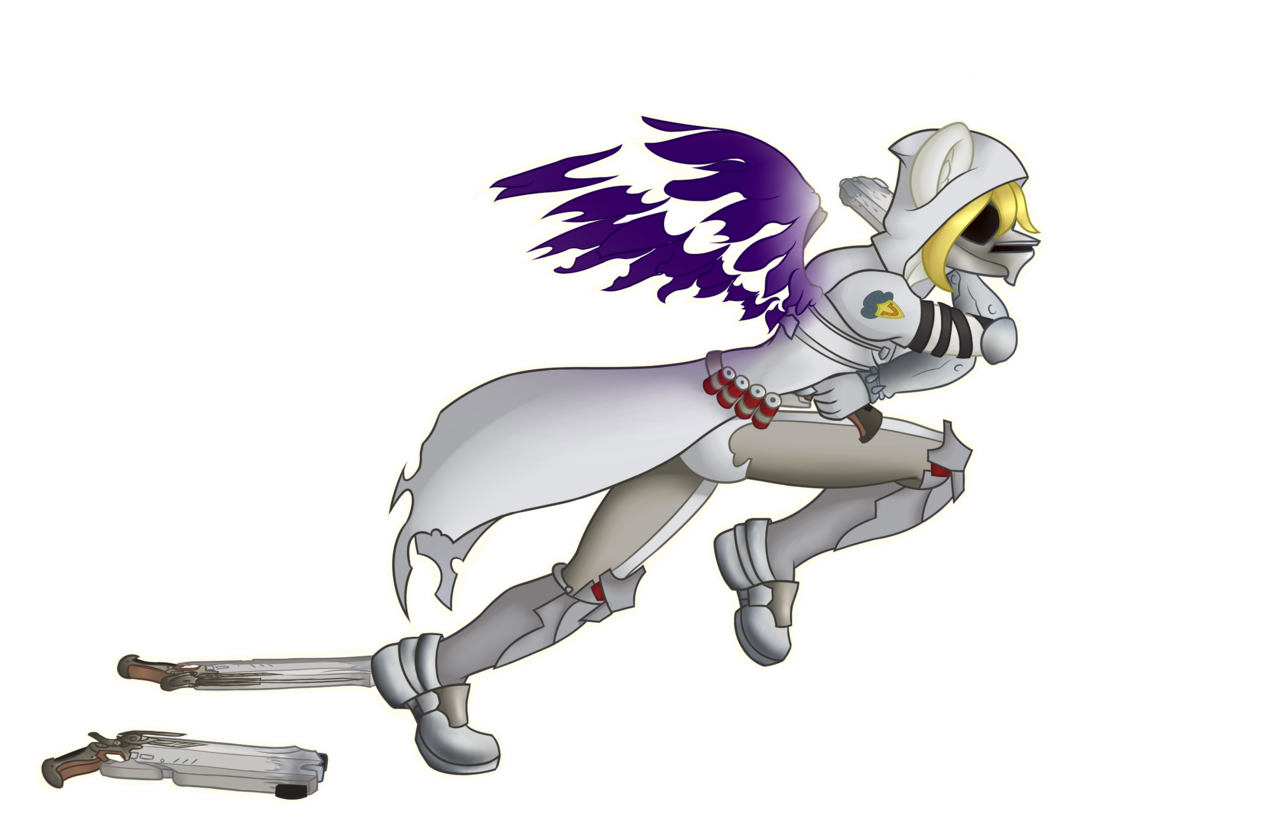 Transparent reaper mlp. Anthro oc commission