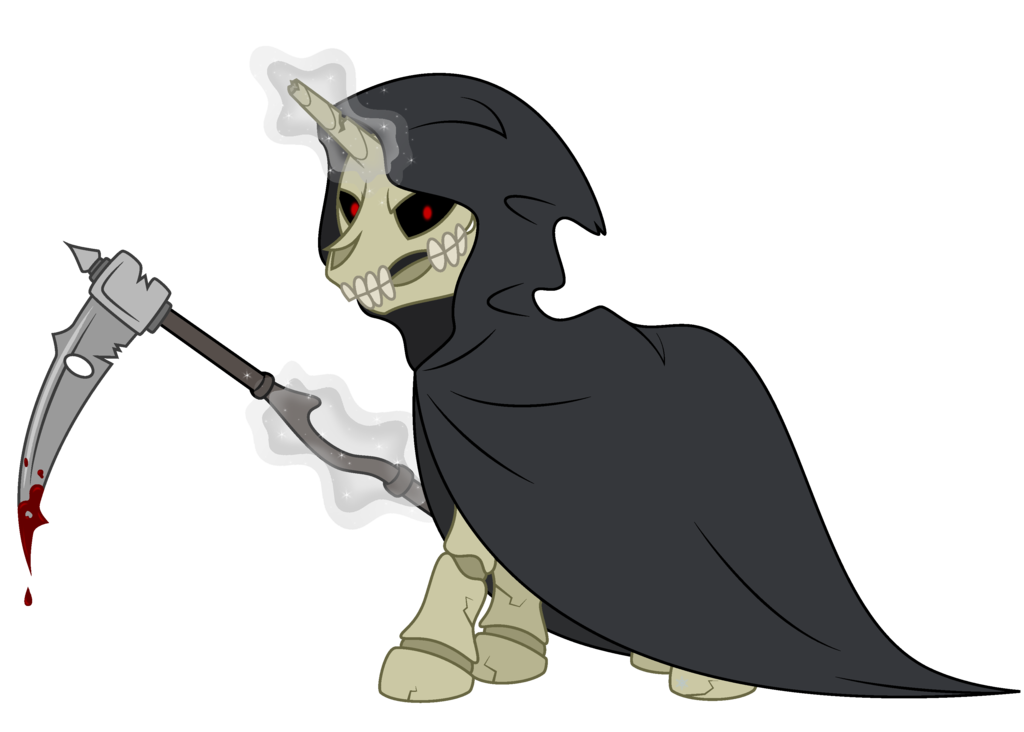 Transparent reaper mlp. Grimm by cayfie on