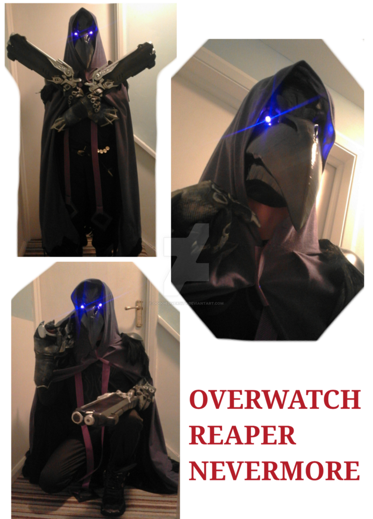 Transparent reaper nevermore. Cosplay by doggiediversity on