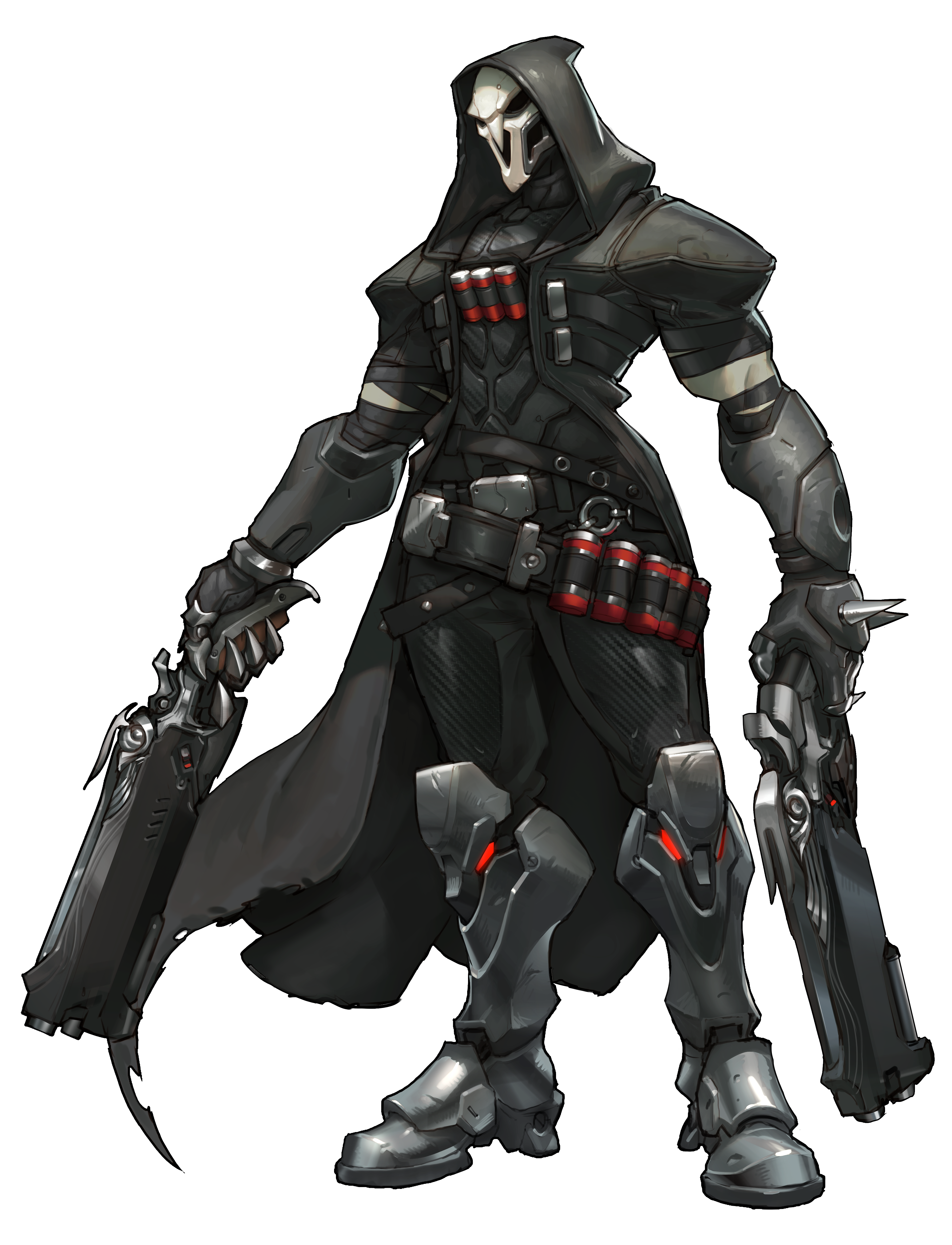 Transparent reaper render. From overwatch game art
