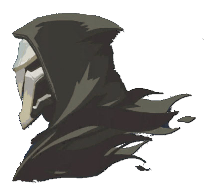 Soul transparent overwatch reaper. Image spray shadow png