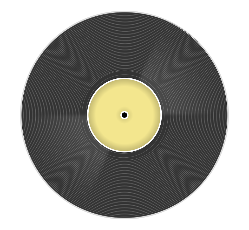 Transparent records. Record free stock photo
