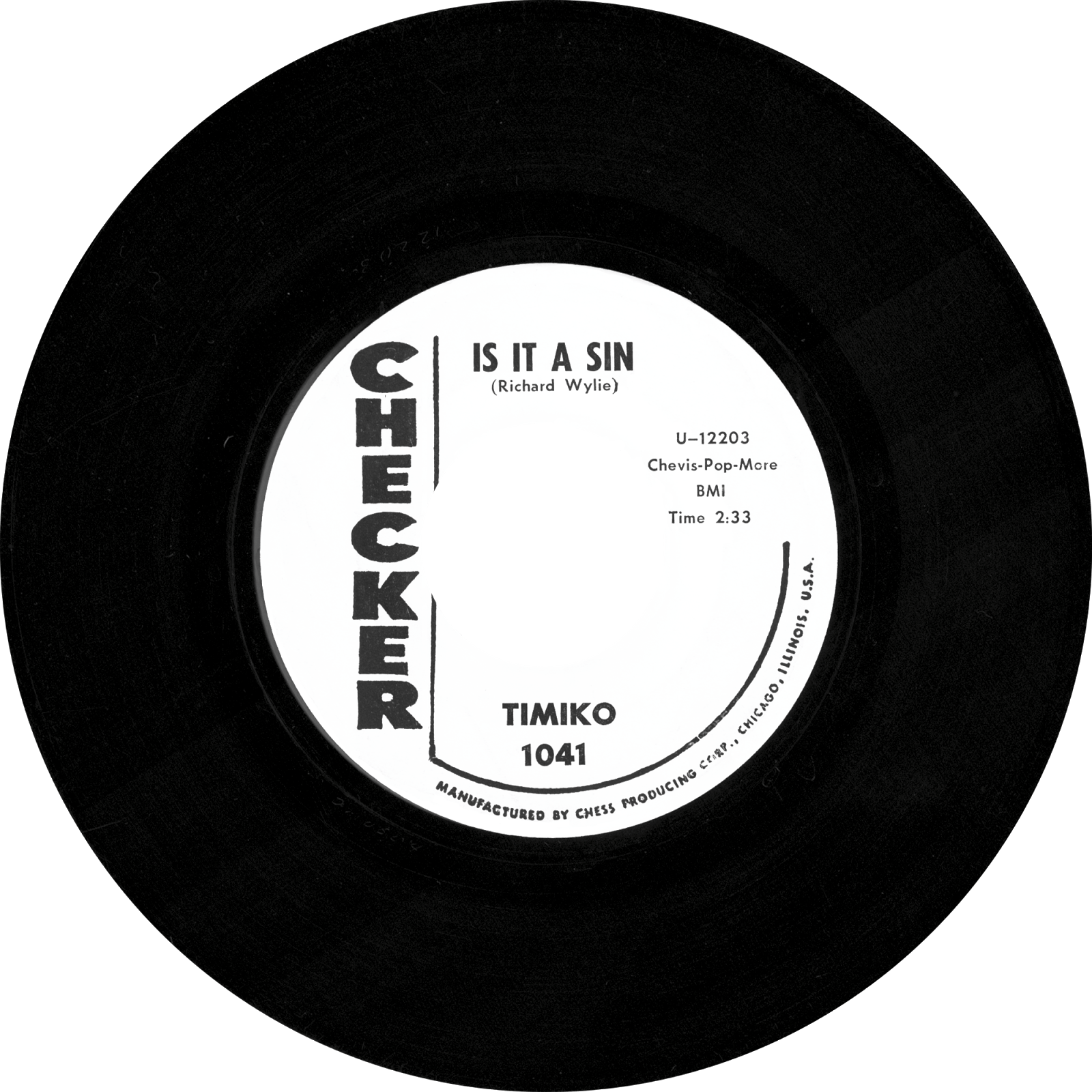 Transparent records oldies. Stereo candies timiko is