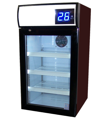 Transparent refrigerator zero. Ct sub beer cooler