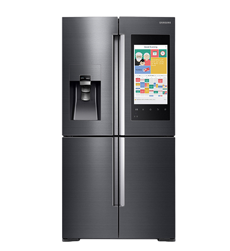 fridge transparent smart