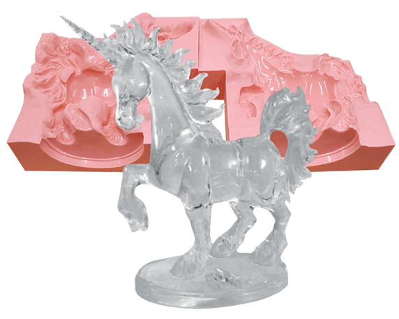 Transparent resins cast. A helpful guide to