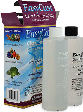 Transparent resins clear. Easycast casting epoxy resin