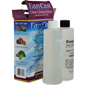 Transparent resins epoxy. Castincraft easycast clear casting