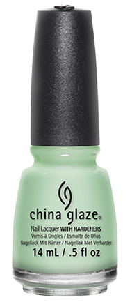 Transparent resins shellac. China glaze nail polish