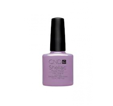 Transparent resins shellac. Cnd lilac longing ml