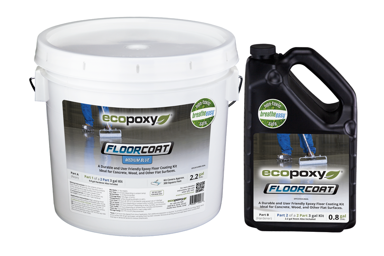Transparent resins surface. Ecopoxy floor coating