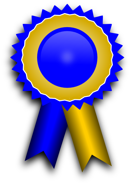 Transparent ribbons recognition. Free image library