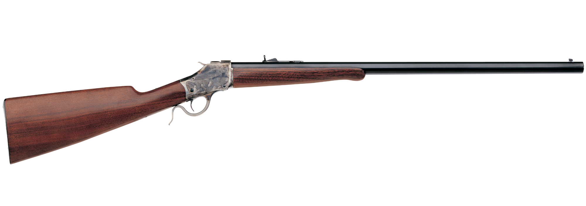 Transparent rifle. High wall uberti