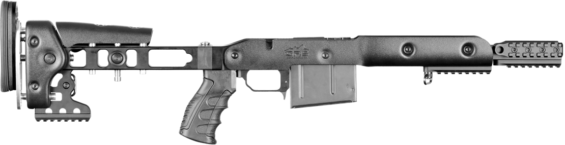 Transparent rifle. Stocks grs riflestocks bolthorn