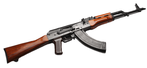 Transparent rifle. Assault top png stickpng