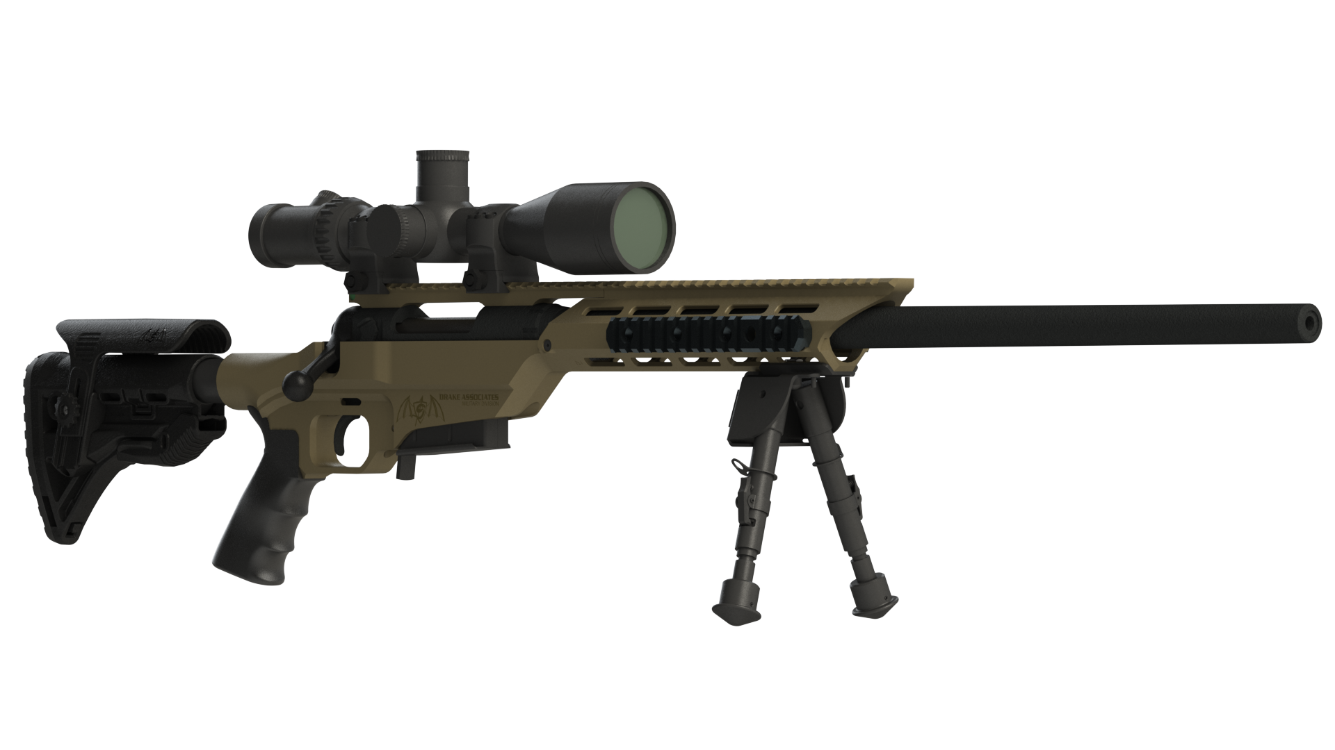 Transparent rifle. Sniper png images free