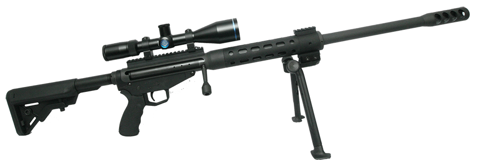 Transparent rifle 50 cal sniper. Warmonger bmg lb ultimate