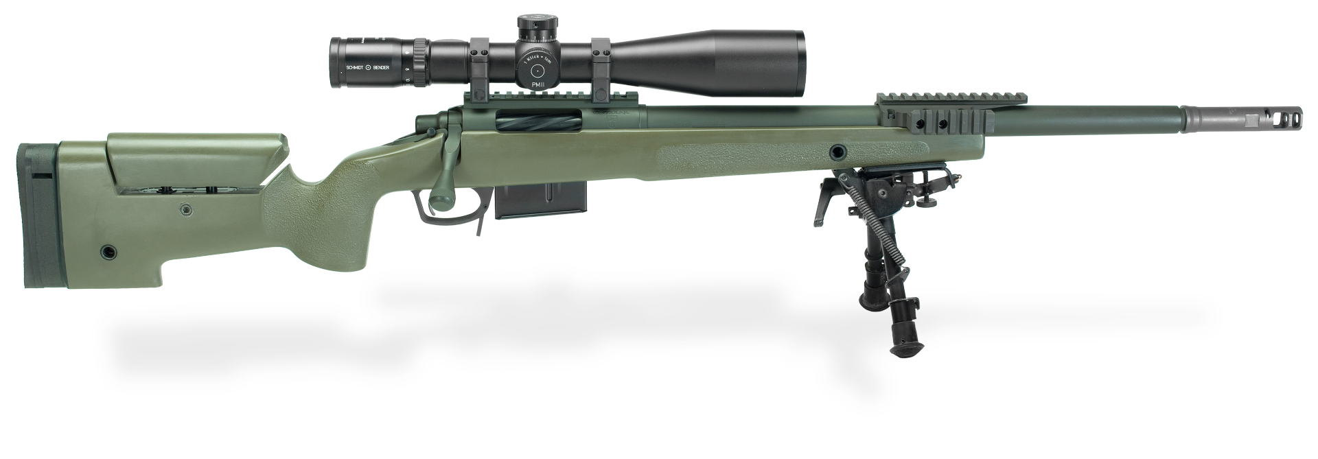 Transparent rifle. Fbi hrt