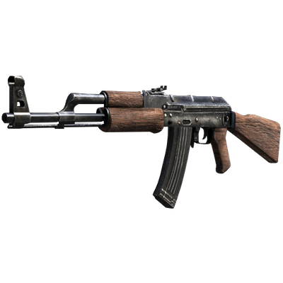Ak png stickpng. Transparent rifle clip art black and white