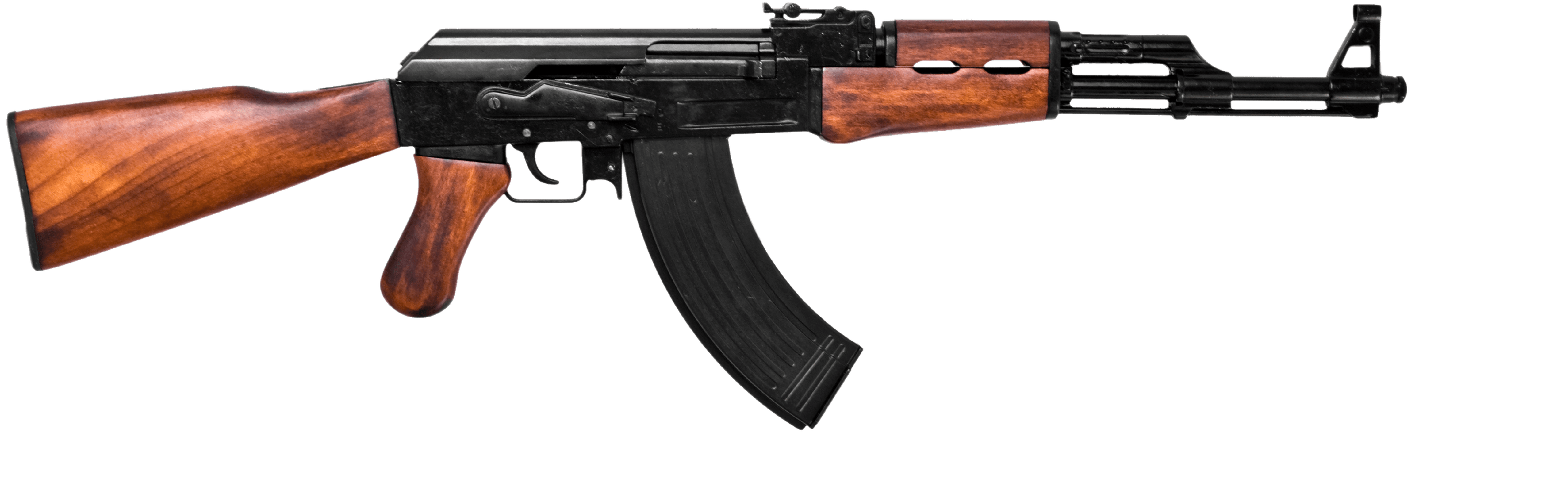 Transparent rifle assult. Ak assault png stickpng