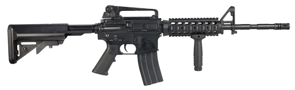 Transparent rifle m4a1. The future of m